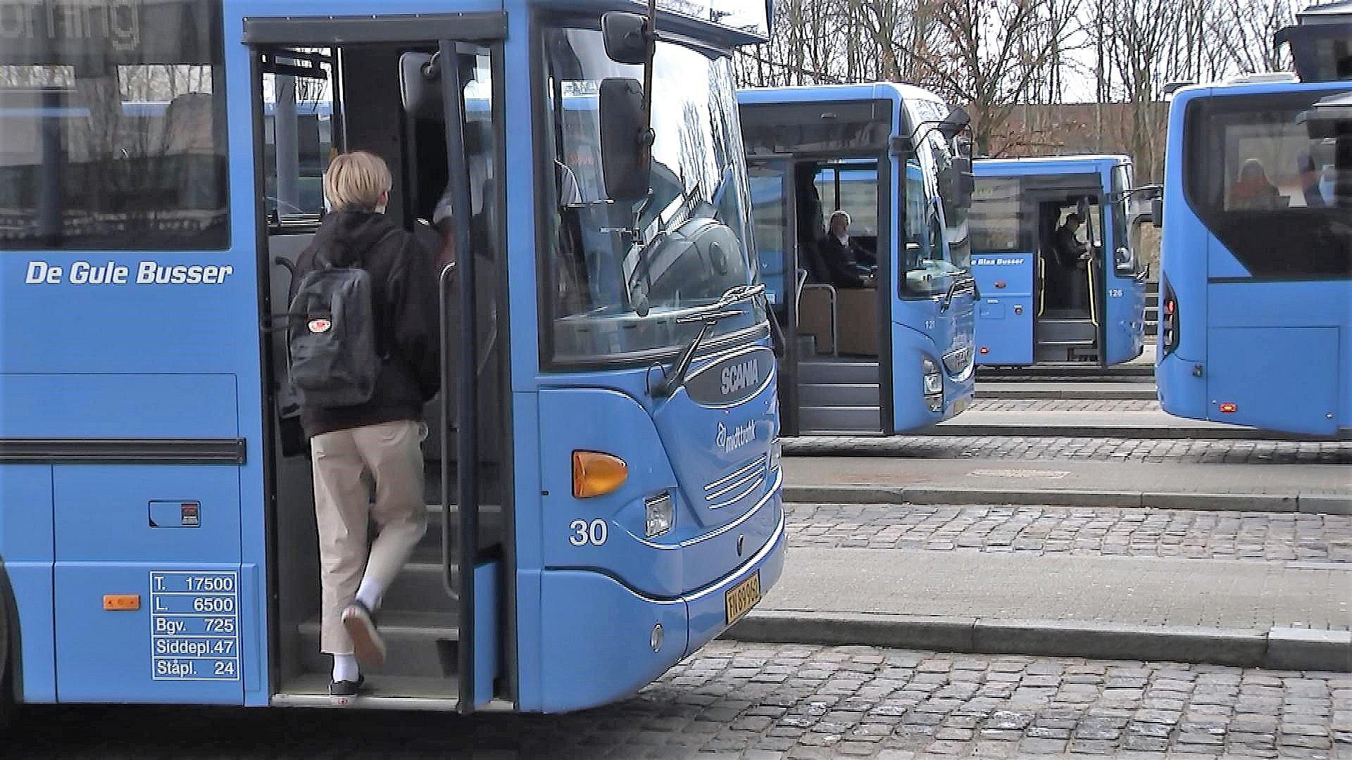 Blå busser bliver grønne i Vestjylland